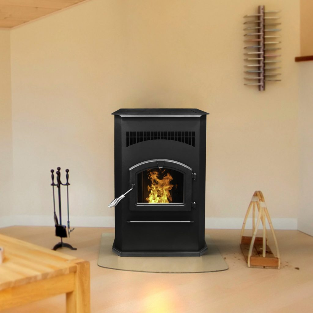 Pleasant Hearth Cabinet Style Pellet Stove