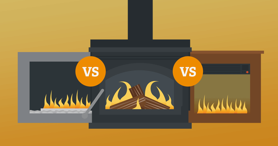 Terrific Gas Vs Wood Vs Electric Which Fireplace Is Best Download Free Architecture Designs Salvmadebymaigaardcom
