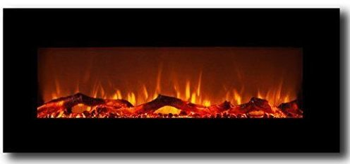 Moda Flame Houston Electric Wall Mounted Fireplace
