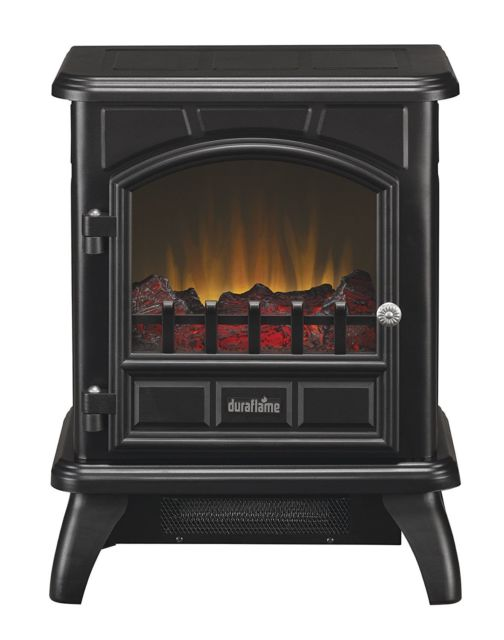 Dura flame DFS-450-2 Carleton Electric Stove with Heater