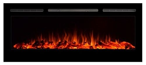 Touchstone Sideline Recessed Electric Heater Fireplace