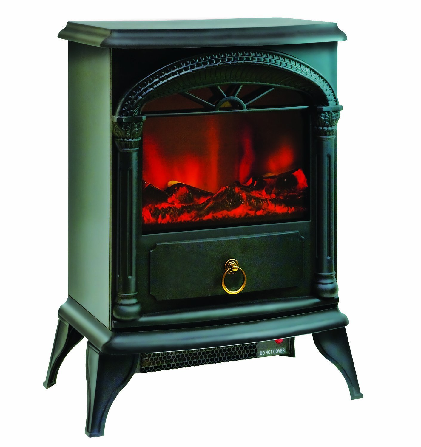 "Comfort Zone Electric ""Stove Style' Fireplace Heater"