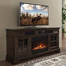Electric fireplaces with TV stand