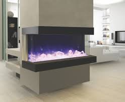 3-Sided Electric Fireplace
