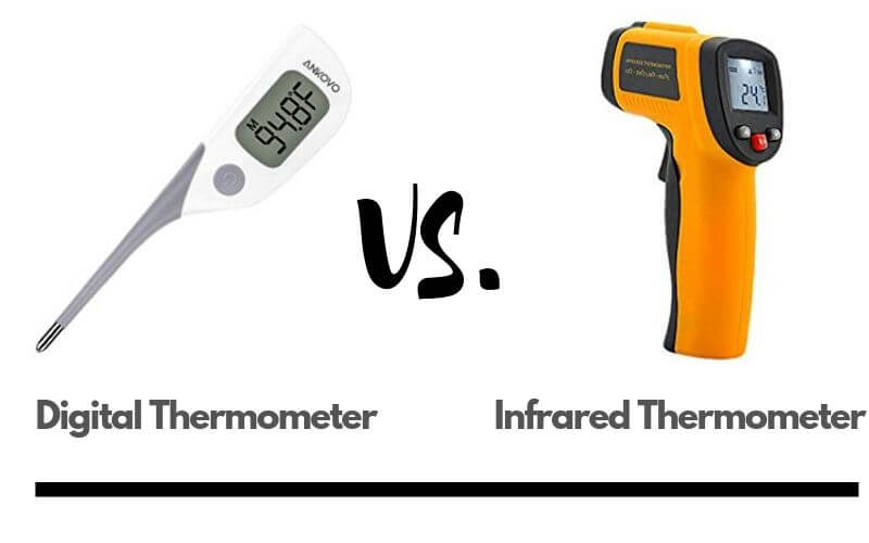 Digital Vs Infrared Thermometer