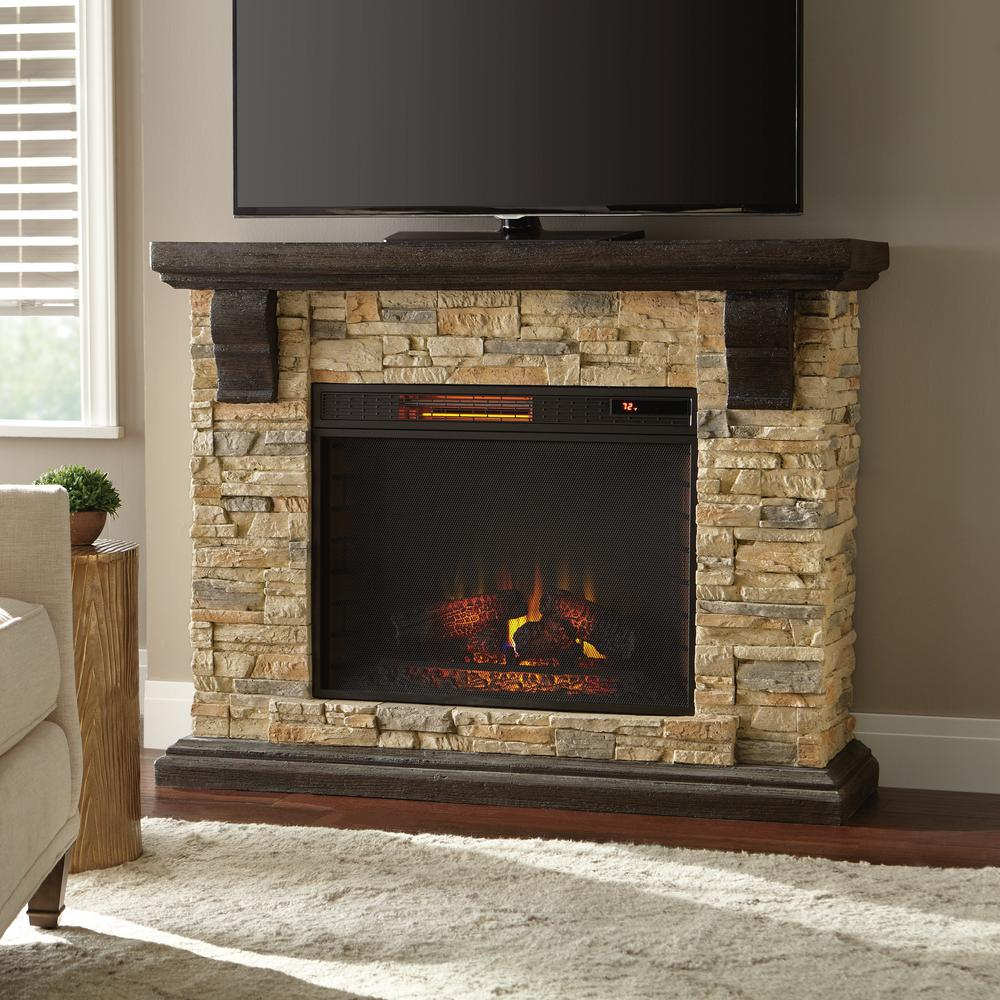 Electric Fireplace Mantels