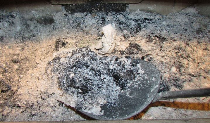 Gather Ash From Fireplace