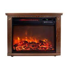 Lifesmart Infrared Quartz Freestanding Electric Fireplace